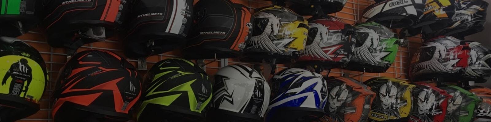 group-of-helmets