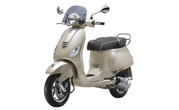 vespa elegante 150 side view