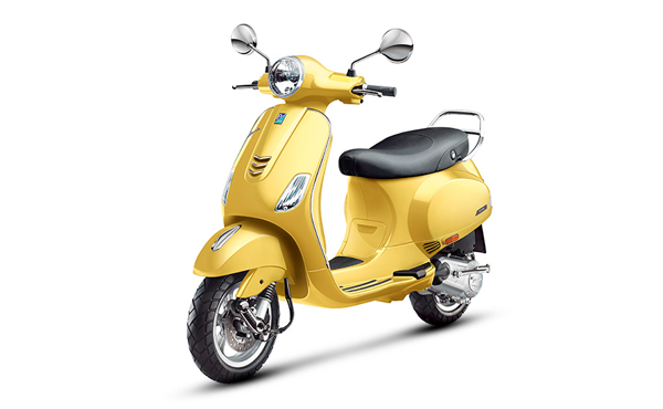VESPA VXL 125 yellow